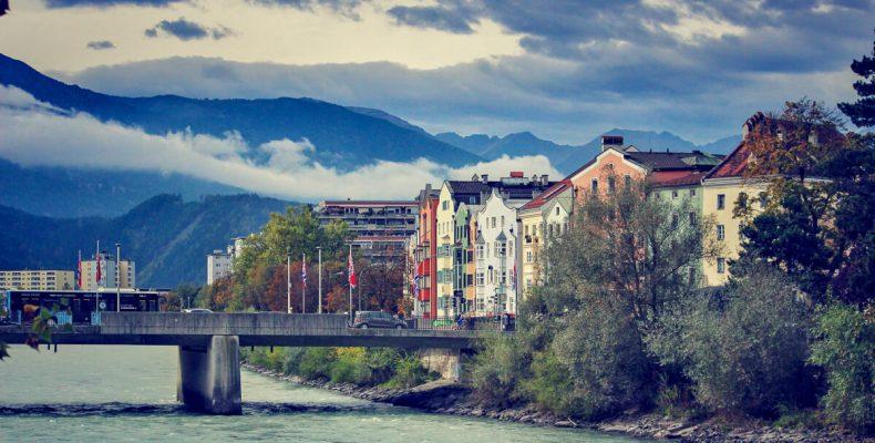 Stadtansicht Innsbruck