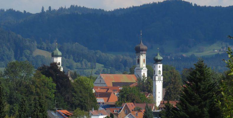 Stadtansicht Isny im Allgäu