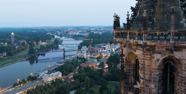 Blick auf Magdeburg - © Mattis Kaminer/Shutterstock.com
