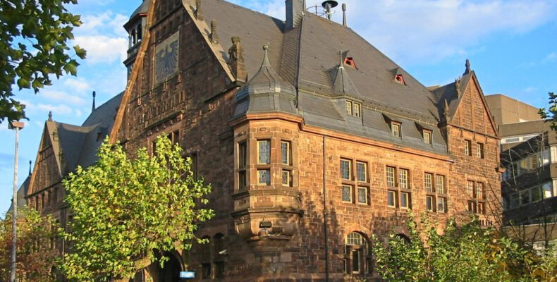 Polizei (altes Rathaus) Dillingen -© Lokilech - Wikipedia